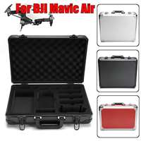 Large Capacity All round Carrying Case Drone Bag For DJI Mavic Air In Aluminum Alloy Material