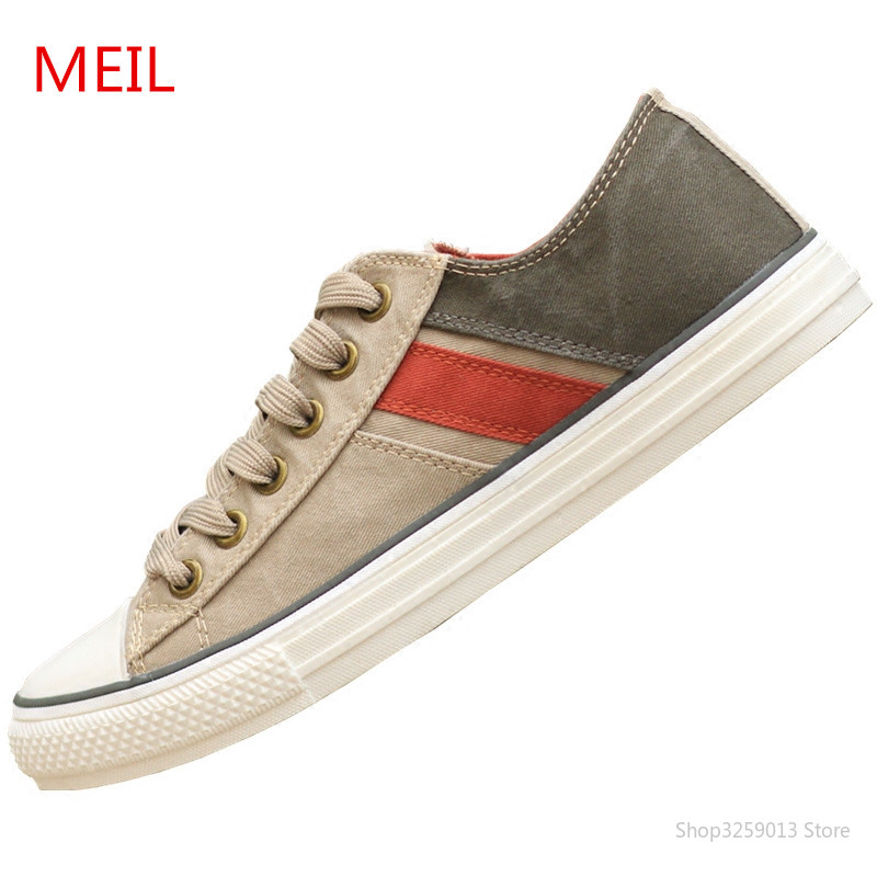 Sneakers Men Casual Shoes Classic Canvas Shoes Men Lace up Fashion Retro Youth Vulcanized Shoes for Men Zapatillas Hombre Tenis
