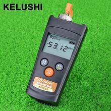 KELUSHI APM-80T оптоволоконный кабель тестер волоконно-оптический измеритель мощности с функцией визуального дефектоскоп