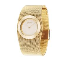 New BCDZZ Top Brand Luxury Women Bracelet Watches Gorgeous Gold Lady Dress Stainless Steel Mesh Band Quartz Wrist Watch Gift