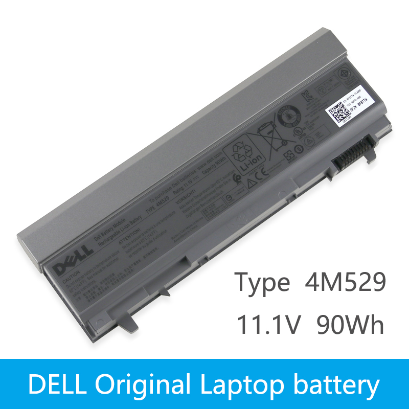 Original Laptop battery For DELL Latitude E6400 E6410 E6500 E6510 M2400 M4400 M4500 M6400 M6500 1M215 C719R W0X4F PT434 9 cells image