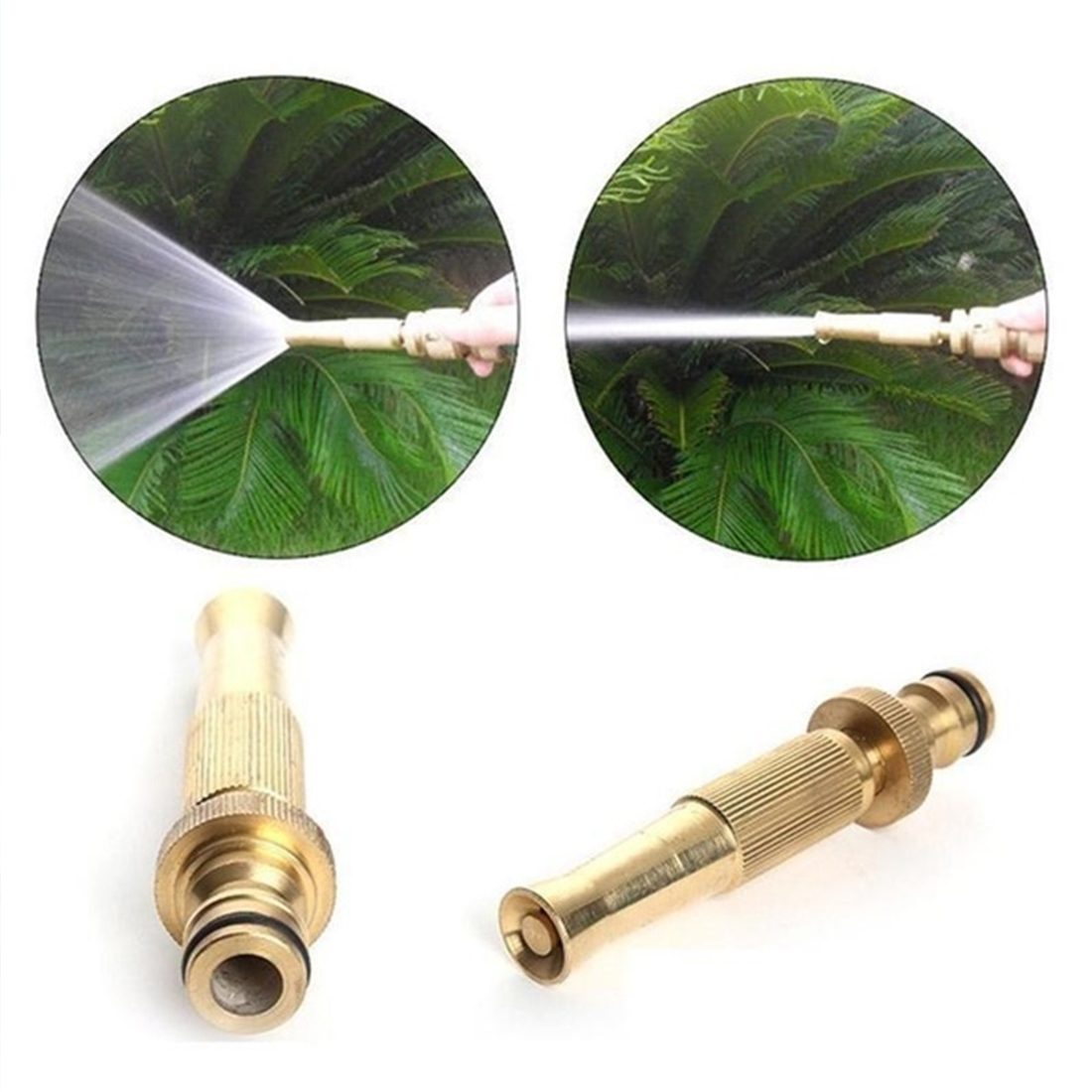 Sprinkler-System Irrigation Spray-Gun Watering Garden-Hose Car-Wash-Lawn Brass Adjustable