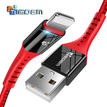 TIEGEM USB Charger Cable for iPhone X 8 7 Fast Data Charging USB Cable For iPhone 6 6s Plus 5 5s SE iPad Pro Mobile Phone Cable