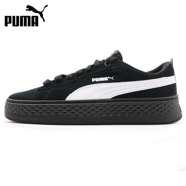 2f39419fbec5ad Original New Arrival 2018 PUMA Smash Platform SD Women s Skateboarding  Shoes Sneakers