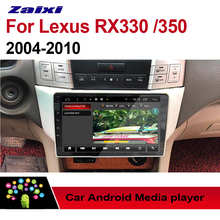 цена на ZaiXi For Lexus RX330 RX350 2004~2010 2 DIN Car Android 9 GPS Naviation Multimedia system Bluetooth Radio Amplifier