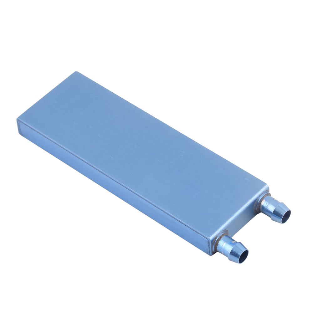 122*41*12MM Aluminum Blue Water Cooling Heatsink Block For CPU GPU VGA CARD pc