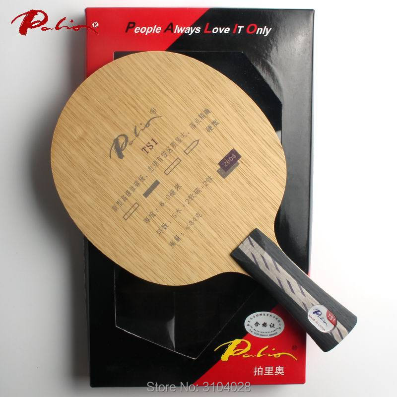 Palio official TS-1 table tennis blade carbon blade carbon and titanium blade fast attack with loop ping pong racket palio official cat table tennis blade carbon blade for table tennis racket fast attack with loop light blade