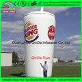 6 м Дешевые горячие продажи пользовательских гигантские Надувные бутылки пива надувные пива, надувные реплики для рекламы