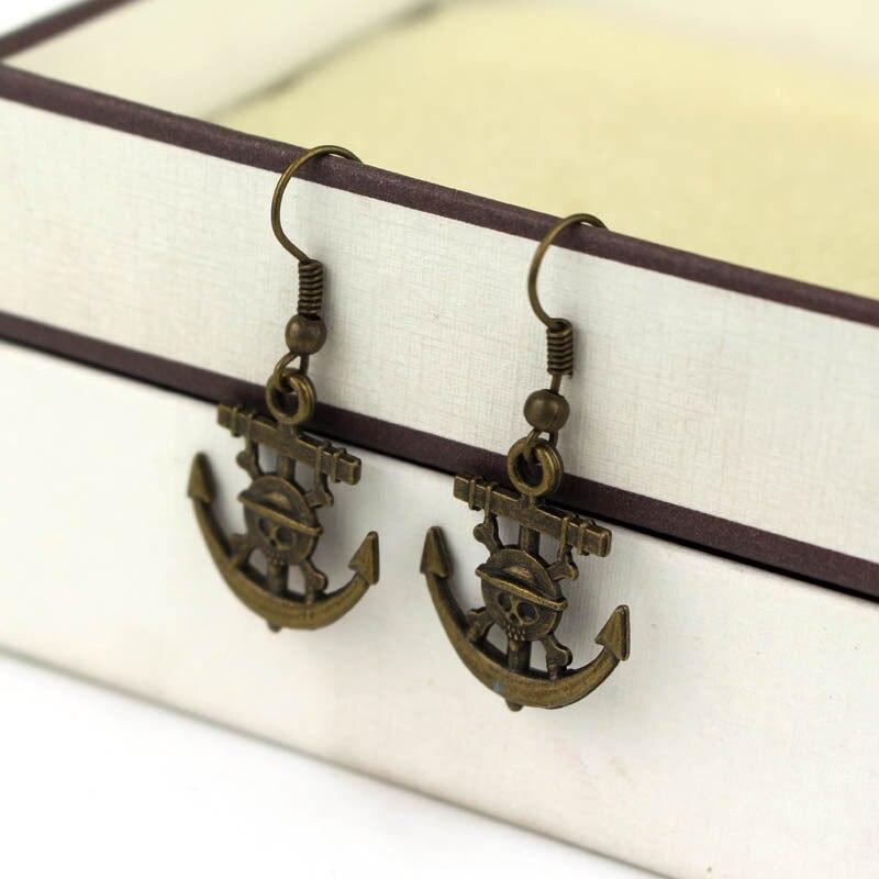 ONEPIECE Ace Stud earrings One piece Mark Earrings Props Boat Earrings