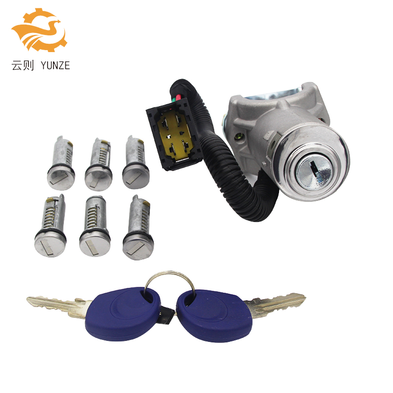 AL-081 IGNITION SWITCH BARREL DOOR LOCK SET 7PCS FOR IVECO DAILY 2006-2012 BRAND NEWAL-081 IGNITION SWITCH BARREL DOOR LOCK SET 7PCS FOR IVECO DAILY 2006-2012 BRAND NEW