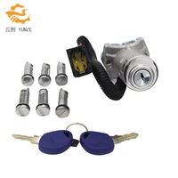 IGNITION SWITCH BARREL DOOR LOCK SET 7PCS FOR IVECO DAILY 2006 2012 BRAND NEW