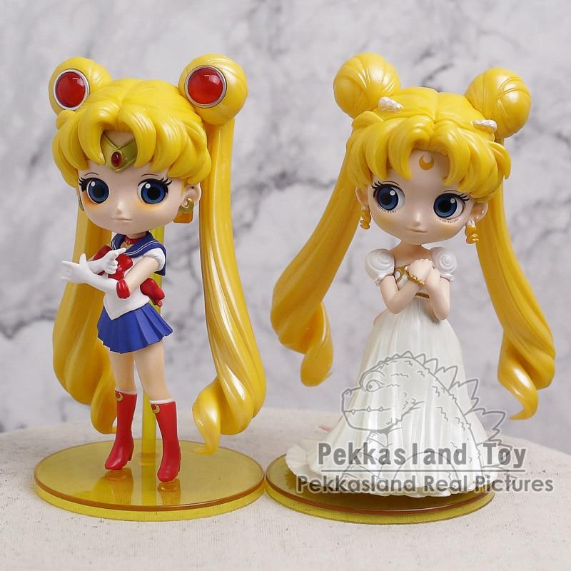 Anime Sailor Moon Tsukino Usagi PVC Figure 13cm tall Statue Toy No Box