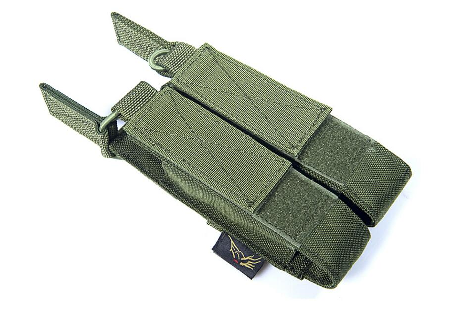 FLYYE Molle Double Open Top Mag Pouch for MP7 Military camping modular combat CORDURA M027