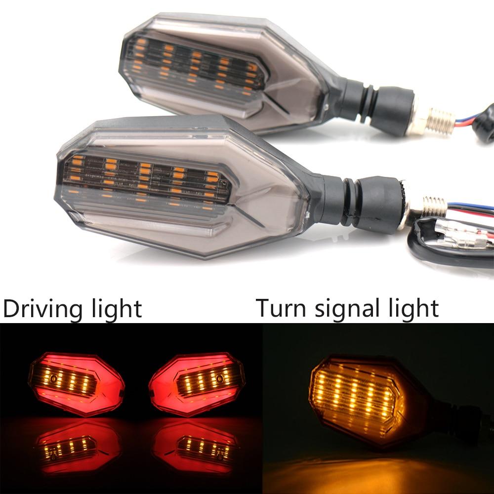 Honda Keenso Universal Turn Signal Indicators Blinker for most Motorcycle 12V Round Turn Signal Indicator Lights Motorcycle//Motorbike Turn Signal Blinker Amber Light Bulb Kawasak Suzuki