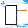 For Samsung Galaxy Tab 3 10.1 P5210 P5200 touch screen digitizer front panel glass with flex cable 1 piece free shipping