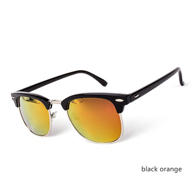 Half Metal High Quality Sunglasses Fashion Men Women