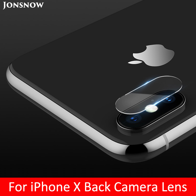 KIPX1002_1_Camera Lens Screen Protector For iPhone X Tempered Glass Clear LCD Film