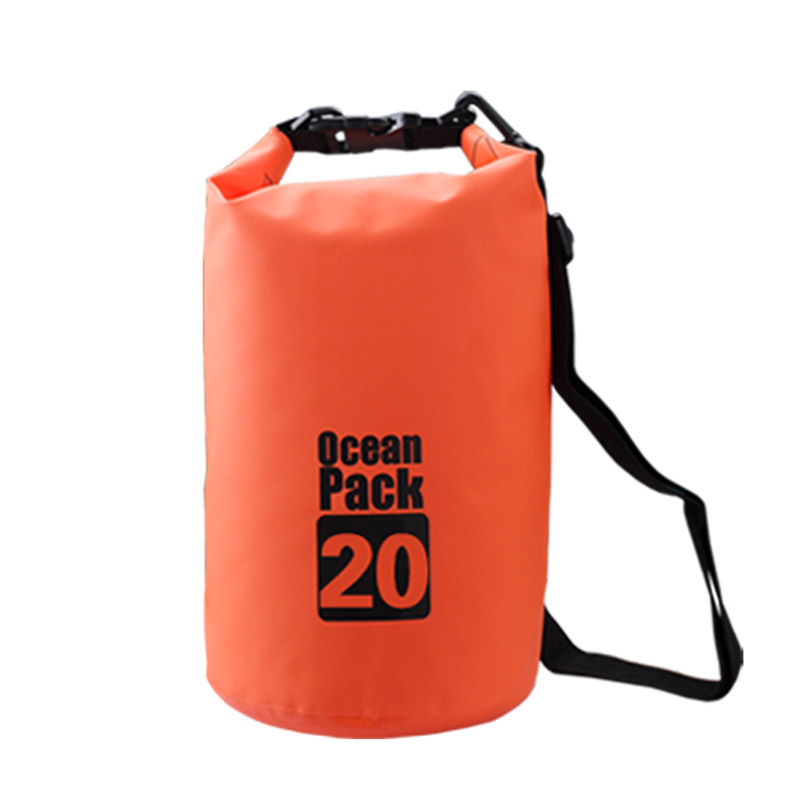 Everest 20l 30l outdoor pvc waterproof dry storage bag rafting sports canoeing swimming bag camping hiking