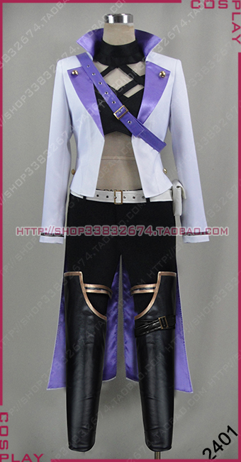RWBY Ruby Blake Belladonna New Cos Clothing Cosplay Costume