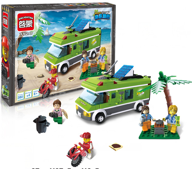 Electric Car Lego Compatible