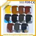 Polarized mirror coating sunglasses lenses , Free lens cut and frame fitting service
