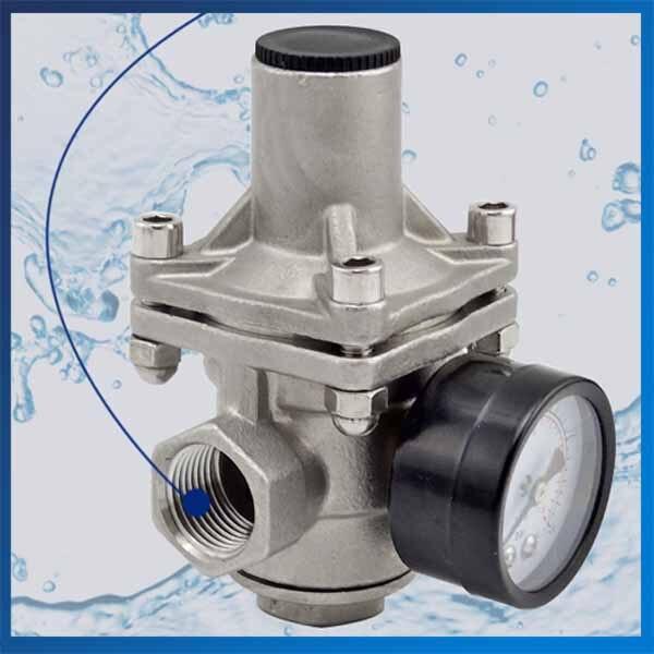 Vanne de pression constante de chauffe-eau de Valve de pression d'eau de robinet d'acier inoxydable de DN15D-DN25