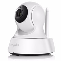 SANNCE 720P Wireless IP Camera Wifi Smart IR Cut Night Vision P2P Baby Monitor Surveillance Onvif