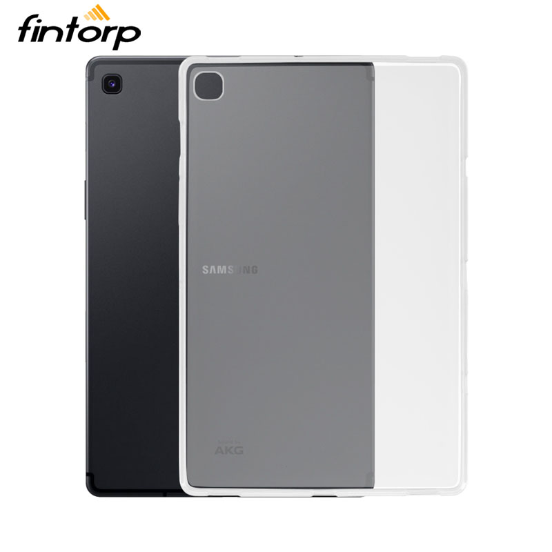 Transparent Case For <font><b>Samsung</b></font> Galaxy Tab A 10.1 8 2019 S5E 10.5 Cases T720 T725 T515 <font><b>P205</b></font> P200 Soft TPU Waterproof Clear Covers image
