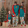 Family Christmas Pajamas Sweaters Mother And Son Matching Clothes Father And Son Daughter Clothes Suits Boys