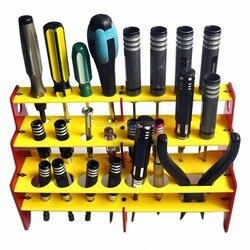 Skrzynka narzędziowa uchwyt do przechowywania śrubokrętów 23 w 1 schowek na śrubokręt