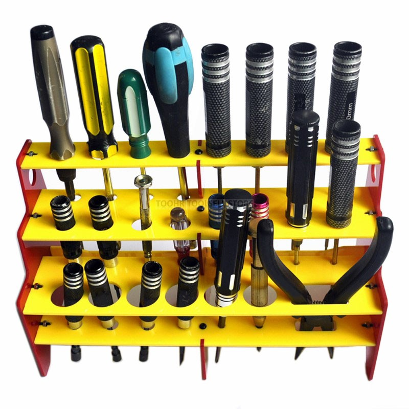 Tool Box Screwdriver Storage Bracket 23 In 1 Screwdriver Storage Box
