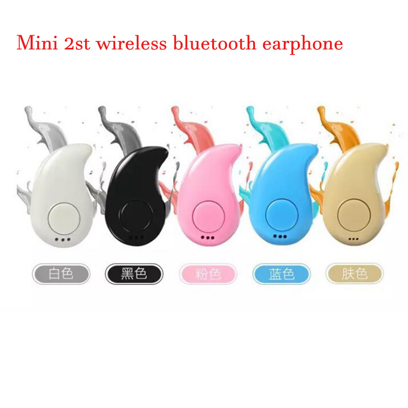 Mini S530 2th Stereo Music Bluetooth 4.1 Headphones Wireless Headset Sport Earphone With Mic for Xiaomi Samsung iphone Phone q2 mini bluetooth headset stereo wireless earphone headphones music car driver headset stealth earbuds mic with charging socket