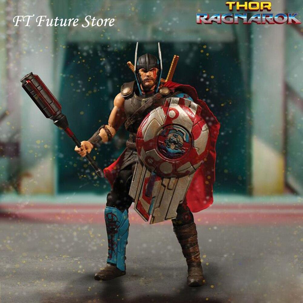 Mezco One 12 Thor /& Hulk Ragnarok Set of 2 Both New and Sealed!