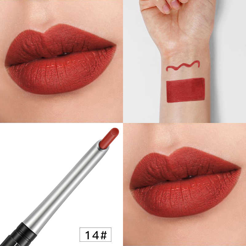 17 Colors Lip Liner Matte Long Lasting Moisturizer Lipliner Sexy Lip Stick Makeup Contour Lip Liner Pencils New Products