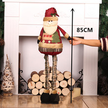 Christmas Tree Ornaments Santa Claus for Home Decorations