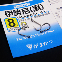 20 Pcs/Lot #1/0-14# Japan black Iseama steel hooks super wearable sharp anti-corrosion carp fishing gamakatsu
