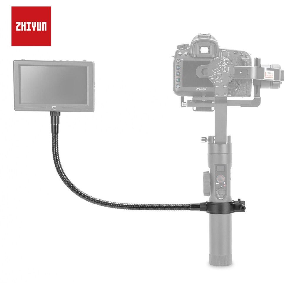 ZHIYUN cardan moniteur 1/4 filetage support métallique avec tuyau Flexible pour grue 2 accessoires de cardan de poche-in Accessoires cardan from Electronique    1