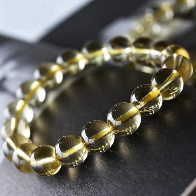 Acheter Citrine Naturelle Bracelet