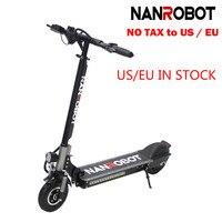 NANROBOT X4 8 Simple Folding 350W 36v10.4A 20Mph 25 Miles 2 Wheel kick e Adult Electric Scooter