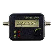 NEW Plastic Black Mini Digital LCD Display Satellite Signal Finder Meter Tester With Excellent Sensitivity Satellite