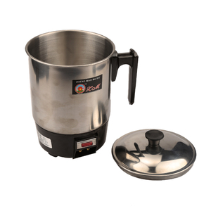 Image 4 - 1.0L 350W 220V Food grade Stainless Steel 304 Conjoined Twin Portable type Electric Cup,Prevent Dry Burn Electric Heat Pan