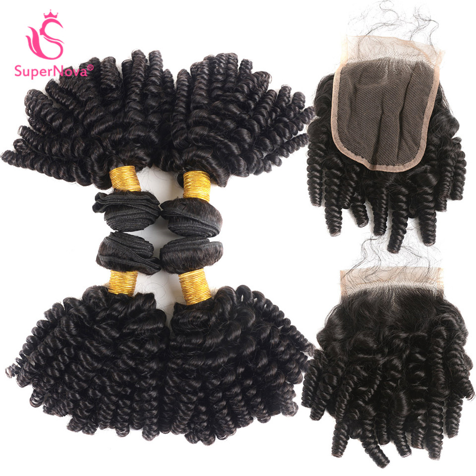 supernova brazilian hair bundles 3 amp 4pcs kinky curly