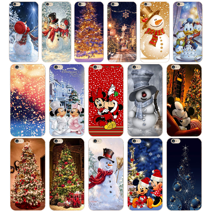 131 ZX Christmas holiday Tree New Year Soft Silicone Phone Cases Cover for Iphone 7 6 6S 8 Plus 5S SE Coque Fundas