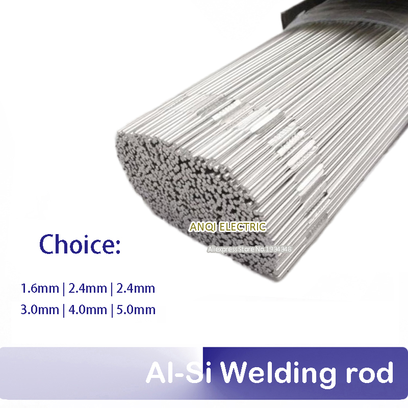 1KG ER4047 Al-Si Alloy Welding rod 1KG dia1.6-3.0 suit for copper and aluminum TIG MIG soldering copper aluminum welding rod refrigerator aluminum pipe air conditioning copper and aluminum connectors aluminum sheet 37cm