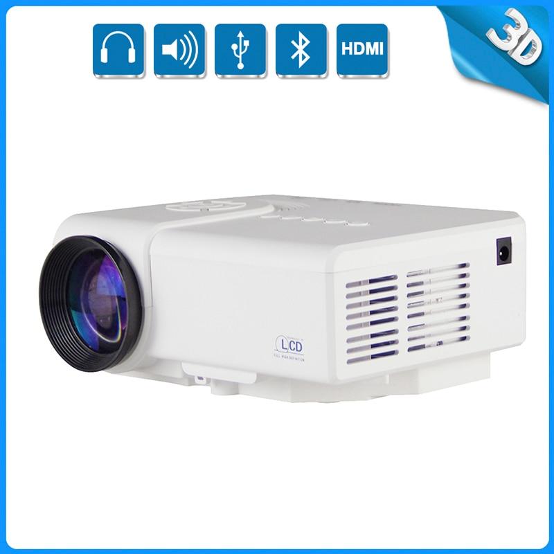 Thinyou Portable full HD USB 3D Red Blue Mini LED tv video Home Theater beamer multimedia