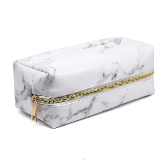 Warble Cometic Bags Makeup Pencil Case Beauty Toliery Zipper Pouch Make Up...