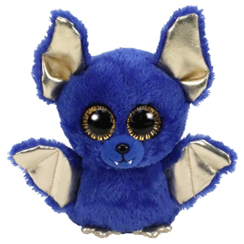 """Pyoopeo Ty бини Боос 6 """"15 см Ozzy the Blue Хэллоуин летучая мышь плюшевые обычные мягкие коллекционные игрушки куклы с биркой в виде сердца"""
