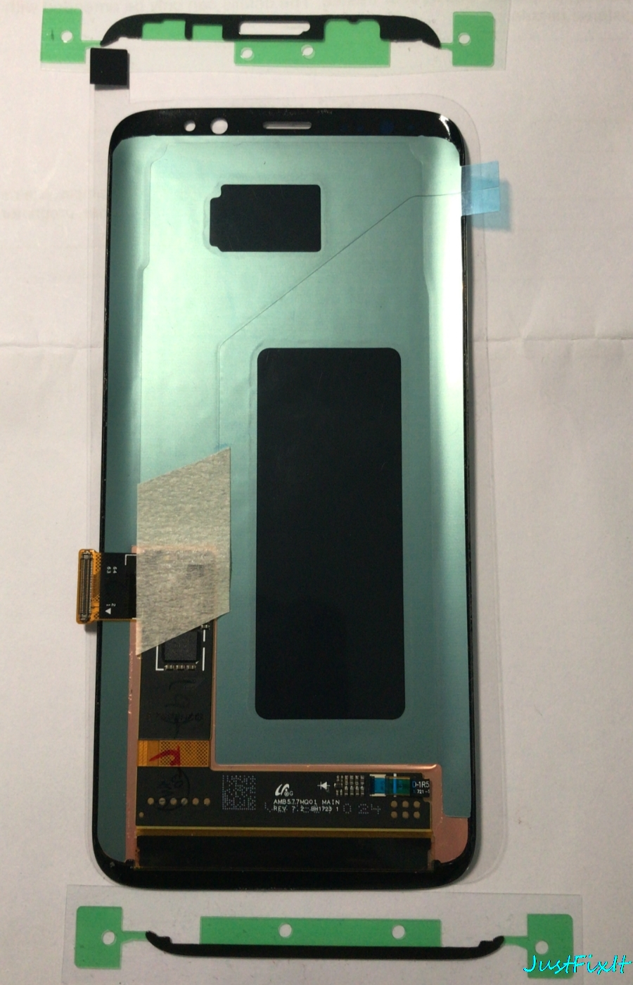 Super AMOLED For Samsung Galaxy S8 S8 plus G950 G950F G955fd G955F Burn-in Shadow Lcd Display With Touch Screen Digitizer Screen
