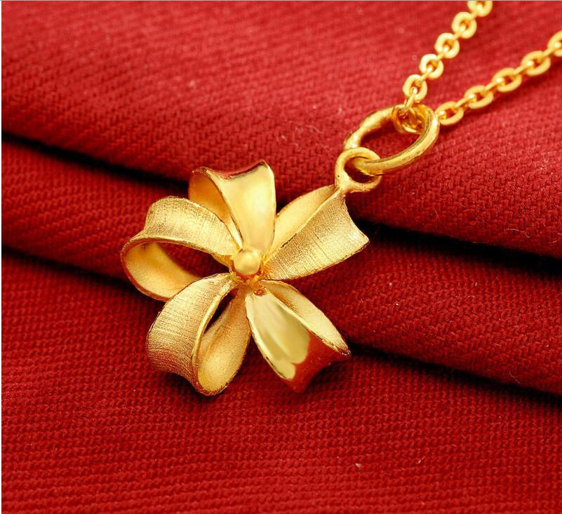 New Fashion 999 24K Yellow Gold /& Crystal Blessing Rabbit Pendant