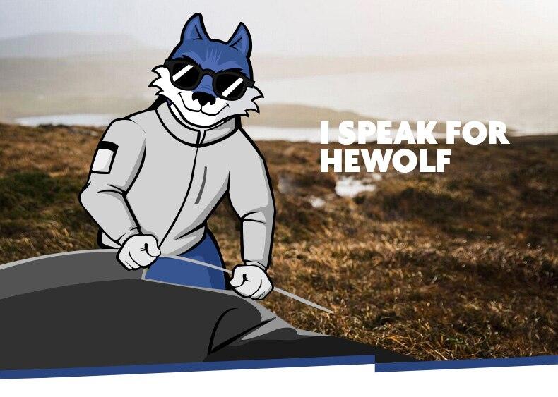 Hewolf portátil hand-held inflator para colchão travesseiro